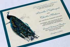 peacock invitations peacock wedding invites valengo style