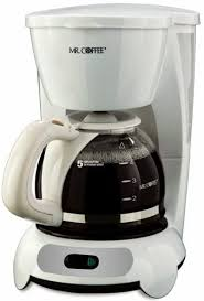 Offering simple functionality and a classic design, the mr. Amazon Com Mr Coffee Tf6 5 Cup Switch Coffeemaker White Drip Coffeemakers Kitchen Dining