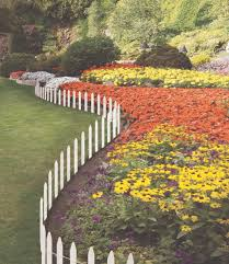 garden fencing for flower beds greenes fence companywooden picket white bed ideas en wire how to