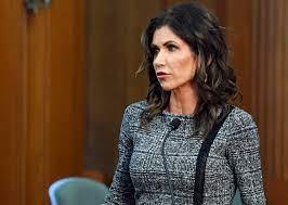 South Dakota Gov. Kristi Noem defends ...