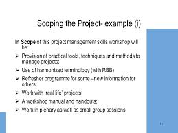 Example Of Management Skills Project Management Skills Workshop Ppt Video Online Download