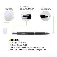 Light Up Pen Refills Yacig Lighted Tip Pen Led Penlight Light Up Pen Light
