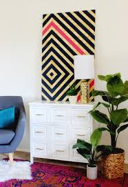 scale art piece that takes the focus off of er friendly walls and wall color and allows you to pack big design pattern and colors into your space