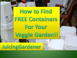 container garden ideas how to find free containers for your vegetable garden you
