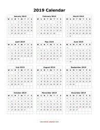 free calendar printable 2019 blank calendar 2019 free download calendar templates