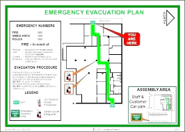 Evacuation Plan Sample Fire Evacuation Drill Ppt