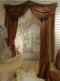 Curtain rods for small windows Window Treatments Wonderful Pair Of Art Deco Art Nouveau With Luxury Swing Arm Curtain Rods With Brackets In Upproductionsorg Bathroom Remarkable Swing Arm Curtain Rods Create Fascinating Home
