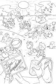 Kleurplaat Fijne Zomervakantie Mickey Mouse Kleurplaat 210927