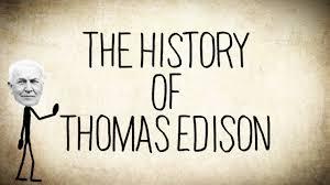 the history of thomas edison a short story
