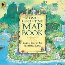 Time Map The Once Upon A Time Map Book Amazon Co Uk B G Hennessy