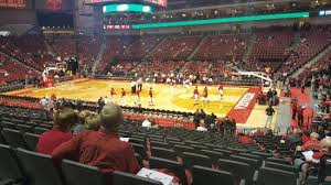 Pinnacle Bank Arena Basketball Seating Chart My Very Expensive View From Section 50 Row Aa Seat 8