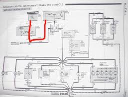 trans am digital dash only panel lighting third generation f here is the wiring schematic for the digital cars you can see that the rheostat dimmer gets it s power from the gauge s hot in run test and start only