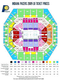 Indiana Pacers Seating Chart Facebook Lay Chart