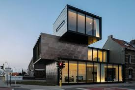 office building designs. Container-shaped Office Building With Multiple Fronts \u2013 HECTAAR Designs
