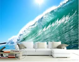 wave wallpaper for walls photo customize size sea wall 3 d living room  wallpapers in of . wave wallpaper for walls ...