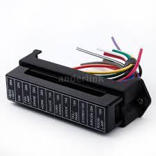 12 way 32v circuit car boat blade fuse box block for middle size 12 way 32v circuit car boat blade fuse box block for middle size atc ato a1a0