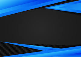 Abstract Template Blue Geometric Triangles Contrast Black