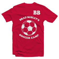 Soccer Camp Shirt Designs Details Zu Brad Bobley Soccer Camp Tshirt Soccer Am Football Stag Birthday Holiday Funny Free Shipping Unisex Casual Gift