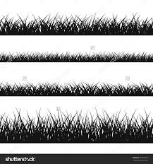 tall grass silhouette. Grass Silhouette Seamless Pattern Nature Lush Landscape Save To A Lightbox. How Decorate Tall E