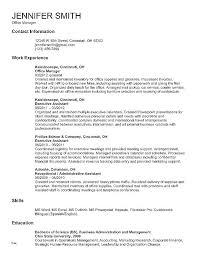 Microsoft Resume Template Classy Executive Level Resume Template Free Executive Level Resume