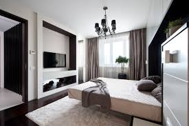 Modern Small Bedroom By Alexandra Fedorova
