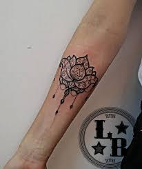 Tetování Mandala Na Krk