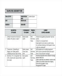 Construction Risk Assessment Form Example Template Pdf Iosh – Pocketapps