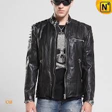 moto leather jacket mens. designer leather moto jacket cw850216 www.cwmalls.com mens e