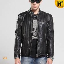 designer leather moto jacket cw850216 cwmalls com