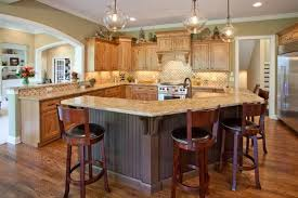 tolle l shaped kitchen countertops traditional counter beige marble countertop wooden cabinets curve breakfast bar dark