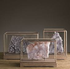 Mineral Display Stands Decorating With Rocks And Minerals 88
