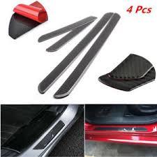image is loading 4x waterproof carbon fiber car door scuff plate