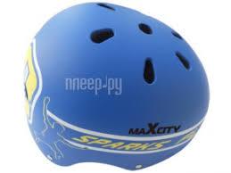<b>Шлем Maxcity</b> Roller Stike M Light-Blue