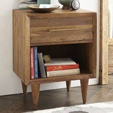 reclaimed wood nightstand. Alexa Reclaimed Wood Nightstand - Honey O