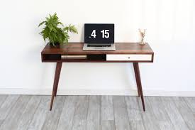 Mid Century Modern Office mid century modern office desk crafts home 6121 by guidejewelry.us