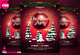 Free Christmas Flyer Templates Download Free Download Christmas Flyer Freedownloadpsd Com