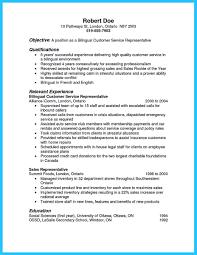 Resume For Customer Service Representative For Bank Cover Letter