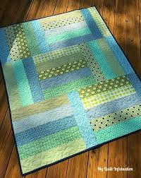 Afternoon Tango Baby Quilt Tutorial | FaveQuilts.com & Afternoon Tango Baby Quilt Tutorial Adamdwight.com