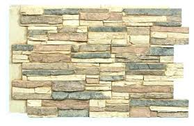 D Rock Panels For Exterior Faux Fake Stone Wall