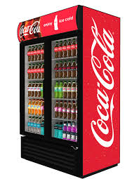 equipment coca cola display fridge