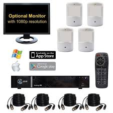 Hidden Camera System with Covert Spy Cameras for Video Surveillance