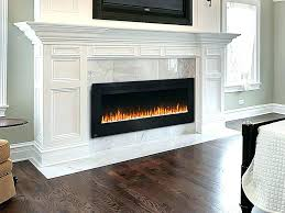 large electric fireplace insert large electric fireplace insert screens marble intended for design