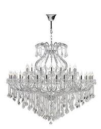 maria theresa 49 light chrome crystal chandelier 72 wide x 60 large