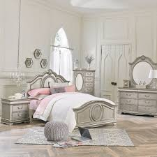 Jessica Silver Youth Bedroom Set Adams Furniture Toddlers Bedroom Furniture  Sets