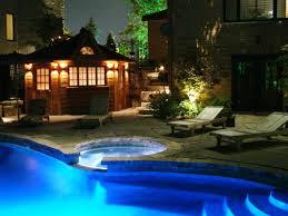 image of outdoor landscape lighting low voltage