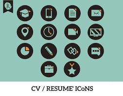 Resume Icons Icons On Resume Therpgmovie 14