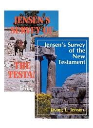 Jensen Bible Study Charts Jensen Survey 2 Volume Set Old And New Testaments By Irving