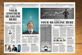 Newspaper Template Indesign Newspaper Template 12 Pages Indesign A3 By Hiro27 Graphicriver