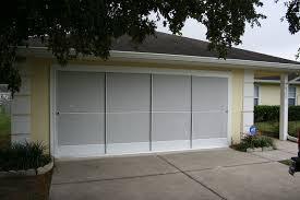 garage screen door slidersSliding Garage Screen Doors  Micheles HideAway Screens