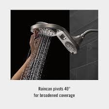 dual shower head shower. HydroRain Shower Heads Dual Head I